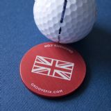 Union Flag Big Ball Marker